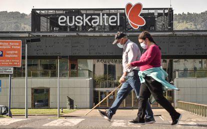 Sede de Euskaltel en Zamudio (Vizcaya).