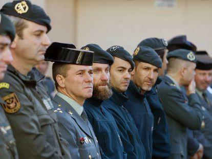 El Grupo de Rescate Especial de Intervención en Montaña (GREIM), que participó en el rescate de Julen.