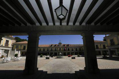 Ayuntamiento de Brunete, en una imagen de archivo.