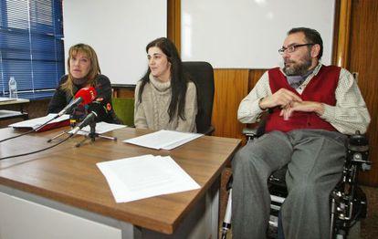 En el centro, Azucena Ortega, la madre de Daniel.