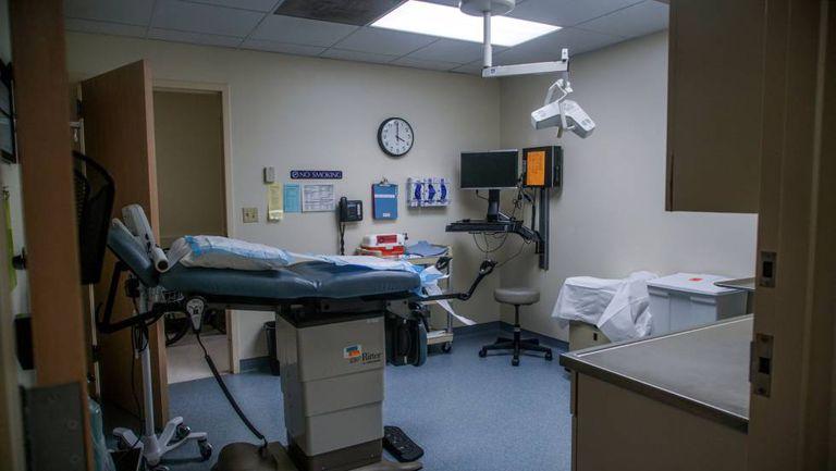 Imagen interior de uno de los centros de salud reproductiva de Planned Parenthood.