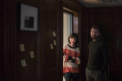 Raúl Alonso y Diana Cortecero, directores de LaFonoteca.