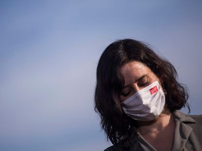 Isabel Díaz Ayuso, en una imagen del 7 de abril.