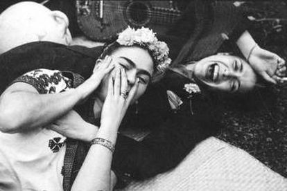 Frida Kahlo y Chavela Vargas.