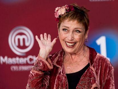 Veronica Forque durante la presentación de la sexta temporada de 'Masterchef Celebrity' en el FesTVal de Vitoria 2021 el pasado 3 de septiembre.