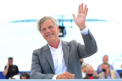 Director Todd Haynes at the presentation of his documentary 'The Velvet Underground' in Cannes.