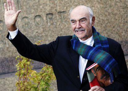 Sean Connery, en Edimburgo.
