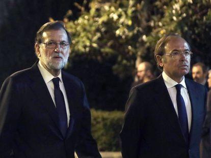 Mariano Rajoy y Pio García Escudero, en una imagen de archivo.