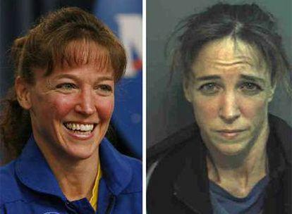Lisa Nowak, la astronauta acusada de tratar de secuestrar a una mujer porque la consideraba su rival por el amor de otro astronauta.