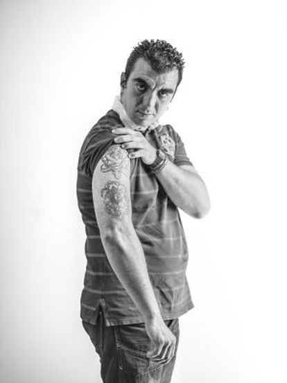 Alberto, uno de los protagonistas del proyecto 'Fuera de lugar'.