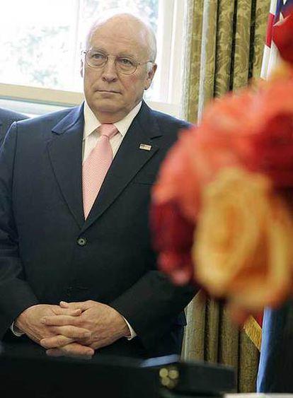 Dick Cheney, durante un acto celebrado el lunes en la Casa Blanca.