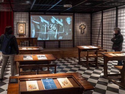 Exposición  para una educación en libertad. Barcelona a l'escoba 1908/1972 en el Centrte Cultural Born de Barcelona.