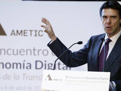 El exministro de Industria, Energía y Turismo, José Manuel Soria. EFE/Archivo