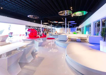 En 2016, la firma de mobiliario de exterior Vondom estrenó su primera tienda en Miami. La internacionalización ha sido una de las estrategias de las empresas de diseño para salir de la crisis económica. Ahora exportan entre un 50% y un 92% de su producción. |