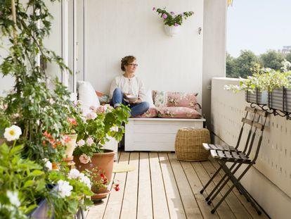 Con la decoración y los muebles adecuados se puede sacar el máximo provecho a terrazas y jardines.