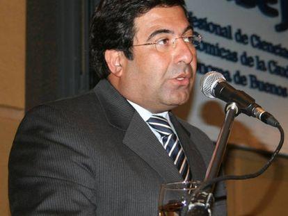 Ricardo Echegaray, cuando era titular de la agencia tributaria de Argentina.
