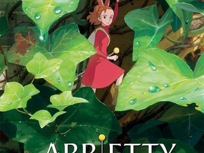 Cartel de Arrietty y el mundo de los diminutos