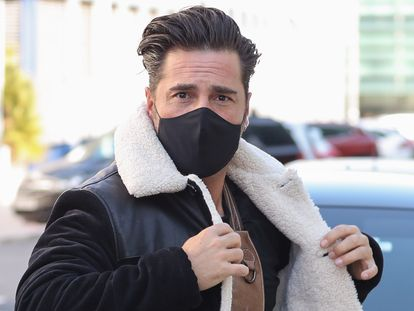 El cantante David Bustamante, el 13 de noviembre de 2020 en Madrid.