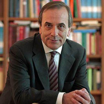 José Antonio Alonso, el pasado lunes, en su despacho del Congreso de los Diputados.