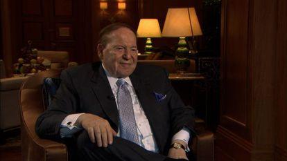 El magnate Sheldon Adelson.