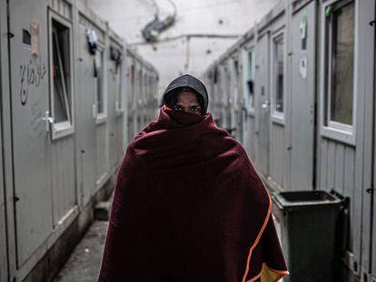 Muhammad es de Afganistán y ha intentado cruzar la frontera en cuatro ocasiones.