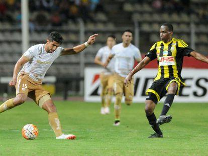 Los Pumas no lograron superar el juego ofensivo de Táchira.