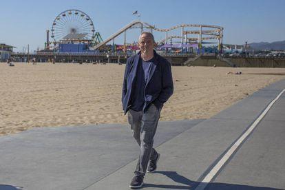 Dennis Lehane, en Santa Mónica, California.