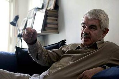 Pasqual Maragall, presidente de la Generalitat de Cataluña.