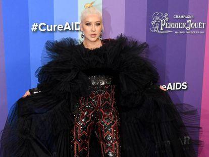 Christina Aguilera en una gala en Los Ángeles el pasado día 10.