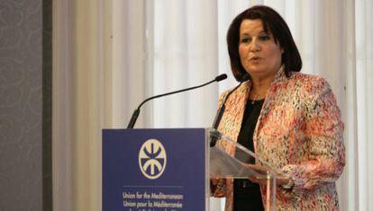 Samira Maraii Friaa, ministra de Mujer, Familia e Infancia de Túnez.