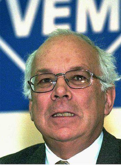 Adolf Merckle en una foto de archivo del año 1996