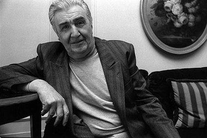 El escritor y periodista de EL PAÍS Eduardo Haro Tecglen, nació en Pozuelo de Alarcón (Madrid) en 1924.