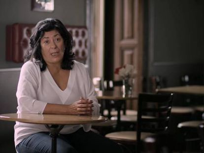 La escritora Almudena Grandes