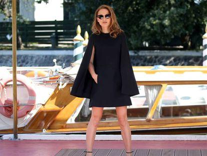 Natalie Portman llega a la isla de Lido en Venecia. En vídeo, el teaser de 'Vox Lux'.