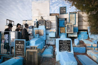 La tumba del rabino Isaac Luria, en Safed (Israel).