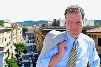 Greg Burke,en Roma.