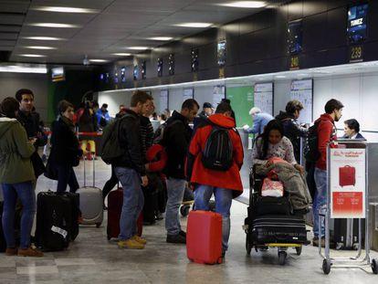 La términal 1 del aeropuerto Adolfo Suárez Madrid-Barajas de AENA