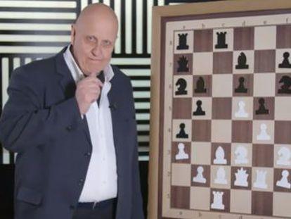 El gran maestro holandés sacrifica una pieza para lograr un ataque ganador muchas jugadas más tarde