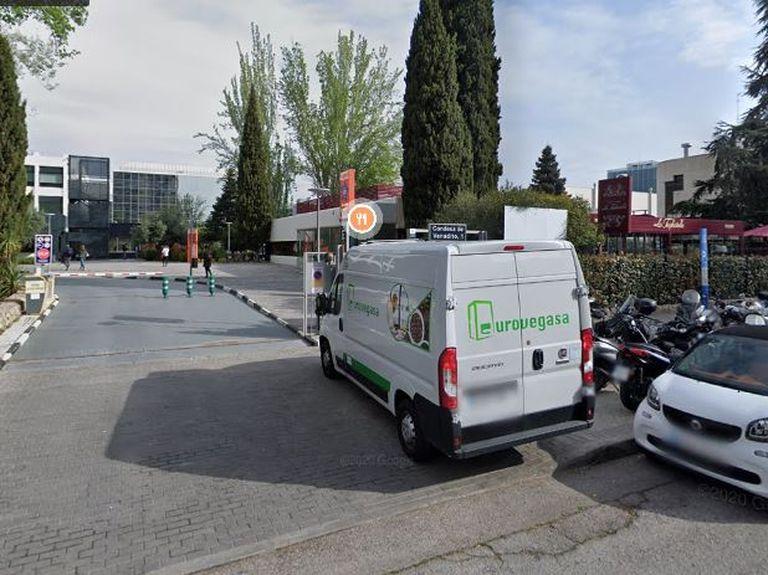 Calle Condesa de Venadito, 1, donde se ha registrado el brote en Madrid. GOOGLE MAPS