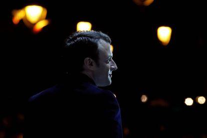 El presidente electo francés, Emmanuel Macron.