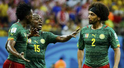 Webó media entre Moukandjo y Assou-Ekotto.