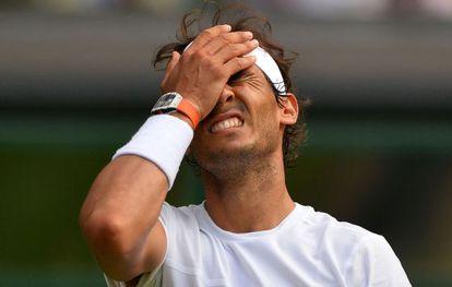 Nadal, tras su eliminación en Wimbledon