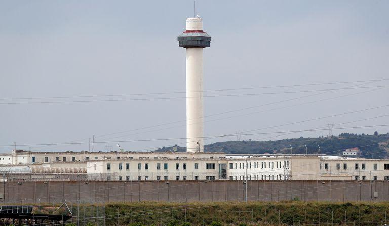 Vista general del Centro Penitenciario de Picassent, en Valencia, aislado desde este miércoles por un brote de coronavirus que afecta a 133 reclusos.