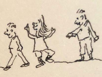 Una ilustración de Jorge F. Hernández.