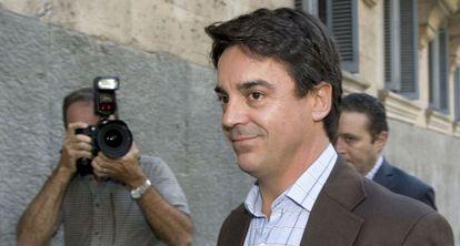 De Santos, a su llegada a la Audiencia de Baleares en 2009.
