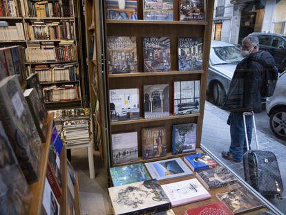 Librería Gaudi, en Madrid.     Foto: Inma Flores