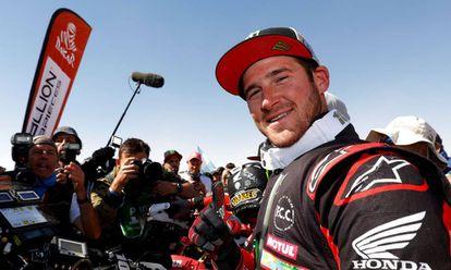 Ricky Brabec, ganador del Rally Dakar.