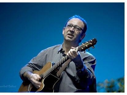 El músico Joan Eloi Vila.