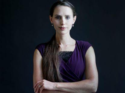 La abogada y activista contra el abuso infantil, Rachael Denhollander.