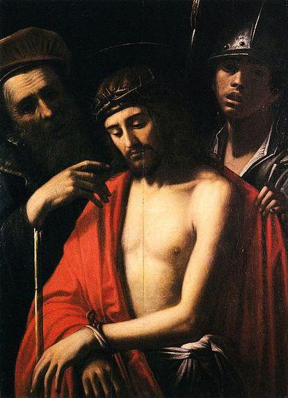 'Eccehomo' (1625) by Mario Minniti, preserved in the cathedral of Mdina (Malta).